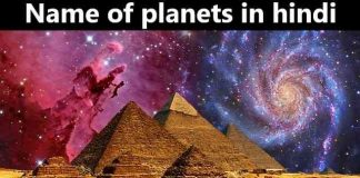 name of planets in hindi